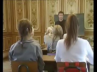 School Girls Classic Movie  Round Ass Schoolgirls fucked Doggy-style in Skirt