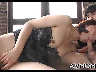 Foot fetish immodest mama