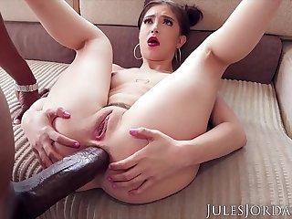 Jules Jordan - Jane Wilde Wants Dread's Big Black Cock Up Her Tight Little Asshole