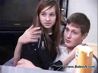Russian Teenage Girl forced sex 2 boys