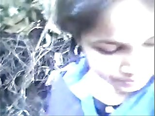 indian college teen in outdoor