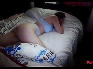 Pervy son fucks horny sleeping mom- WTF