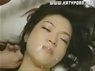 korean babe moans in satisfaction