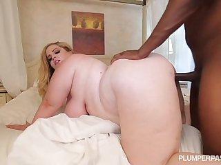 Lovely Big Tit BBW Sashaa Juggs Pounded by Big Black
