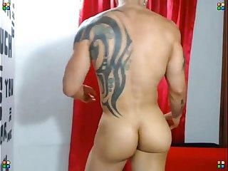 profi muscular butt