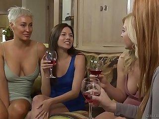 Lesbian Step sisters have feelings - Girlfriends Films