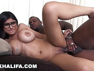 MIA KHALIFA - I Was A Little Bit Scared Of My First Black Cock, But I Did It