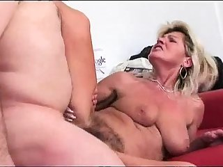 Hairy granny squirts