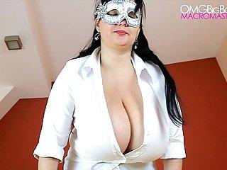 Dark aeola breast shake amateur
