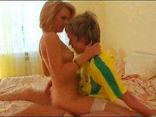 Who is she? Blond Old lady fuck young boy. Blond MILF fuck young boy. Name PLS