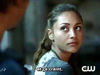 Sex scene from (The 100) T.V series