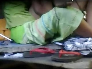 Indian  Village Real lesbian hidden cam Tape in open field