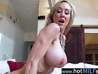 Hot Milf (brandi love) Act Like A Star Riding Huge Monster Cock In Sex Tape video-11