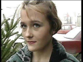 Cute blonde german teen