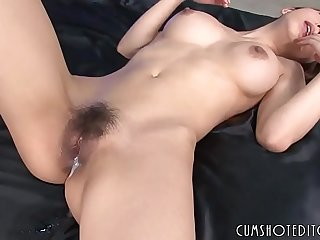 Young Japanese Teen Filled With Cum